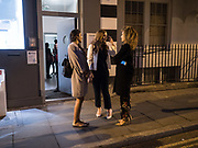 JULIA COELHO; ANNA COSQUIERI; SYDNEY VON IHERING, ; Gibraltar as seen by five artists. private view hosted by the Chief Minister of Gibraltar. Art Bermondsey project Space. 24 October 2017