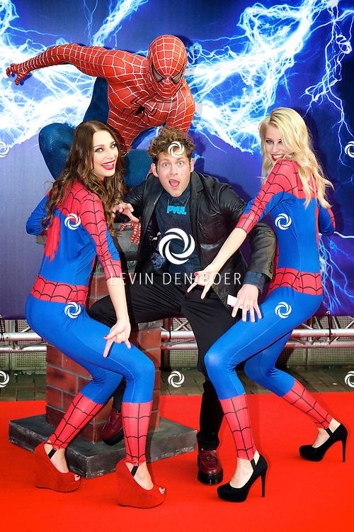 AMSTERDAM - Bij het Pathe ArenA Theater is de filmpremière van Spiderman II gehouden. Met hier op de foto  Paul Turner. FOTO LEVIN DEN BOER - PERSFOTO.NU