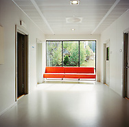 Halden Prison, Norway, June 2014:<br /> Corridor in the classroom building.<br /> -- No commercial use --<br /> Photo: Knut Egil Wang/Moment/INSTITUTE