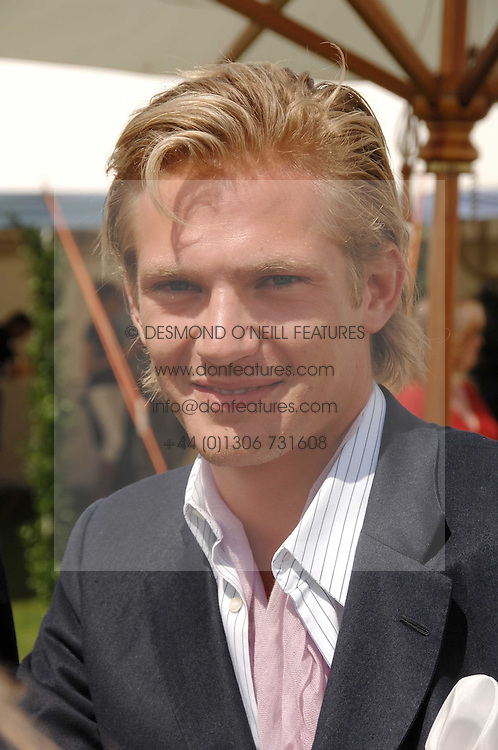 JACOBI ANSTRUTHER-GOUGH-CALTHORPE at the Cartier International polo at Guards Polo Club, Windsor Great Park on 29th July 2007.<br /><br />NON EXCLUSIVE - WORLD RIGHTS