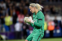 Katarzyna Kiedrzynek of  Paris Saint-Germain looks dejected after failed the last penalty during the UEFA Women's Champions League Final between Lyon Women and Paris Saint Germain Women at the Cardiff City Stadium, Cardiff, Wales on 1 June 2017. Photo by Giuseppe Maffia.<br /> <br /> <br /> Giuseppe Maffia/UK Sports Pics Ltd/Alterphotos