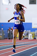 MEAC Indoor Track and Field Championships at the Prince George's Sports and Learning Complex in Landover, Maryland.  February 11, 2016.  (Photo by Mark W. Sutton)