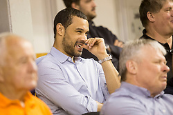 Trajan Langdon during basketball match between KK Petrol Olimpija and KK Sentjur in Playoffs of Liga Nova KBM 2017/18, on April 18, 2018 in Tivoli sports hall, Ljubljana, Slovenia. Photo by Urban Urbanc / Sportida
