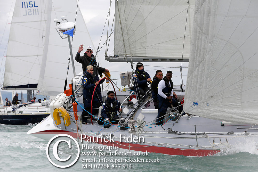2017, July 1, Round the island Race, Round the Island Race, UK, Isle of Wight, Cowes, GBR 6070L, GREIG CITY ACADEMY, SCARAMOUCHE, GBR 607 2017 Round the island Race,
