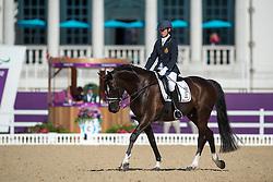 Dekeyser Ulricke (BEL) - Cleverboy van d'Abel<br /> Team Test - Grade IV - Dressage <br /> London 2012 Paralympic Games<br /> © Hippo Foto - Jon Stroud