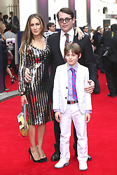 59905874<br /> Sarah Jessica Parker,  Matthew Broderick and Son James at the Premiere of the Musical Charlie and The Chocolate Factory in Theatre Royal London, United Kingdom, 25 June 2013. Photo by imago / i-Images<br /> UK ONLY