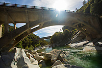 Aaron Fleenor at a bridge near Nevada City
