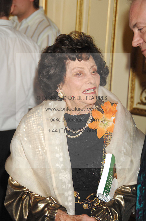 JACQUELINE, LADY KILLEARN at a party to celebrate the publication of 'Arthur's Road' a biography of Arthur Guinness written by Patrick Guinness held at the Irish Embassy, London on 6th March 2008.<br />
