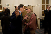 PETER YORK; SUE CREWE, Vanity Fair, Baroness Helena Kennedy QC and Henry Porter launch ' The Convention on Modern Liberty'. The Foreign Press Association. Carlton House Terrace. London. 15 January 2009 *** Local Caption *** -DO NOT ARCHIVE-© Copyright Photograph by Dafydd Jones. 248 Clapham Rd. London SW9 0PZ. Tel 0207 820 0771. www.dafjones.com.<br /> PETER YORK; SUE CREWE, Vanity Fair, Baroness Helena Kennedy QC and Henry Porter launch ' The Convention on Modern Liberty'. The Foreign Press Association. Carlton House Terrace. London. 15 January 2009
