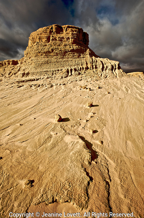 Mungo National Park, New South Wales, Australia, World Heritage Site. Park is most significant for the archeological remains which have been discovered there.