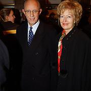Premiere Wereldkerstcircus 2003, Paul Nouwen en Monique Walrave