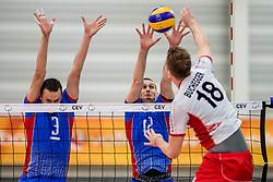 23-05-2017 NED: 2018 FIVB Volleyball World Championship qualification, Koog aan de Zaan<br /> Slowakije - Oostenrijk / Emanuel Kohut #3, Matej Patak #12