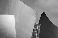 Close-up of the Walt Disney Concert Hall in Los Angeles, CA, designed by Frank Gehry. This image is part of a personal photo project which features images that highlight geometrical patterns in architecture.