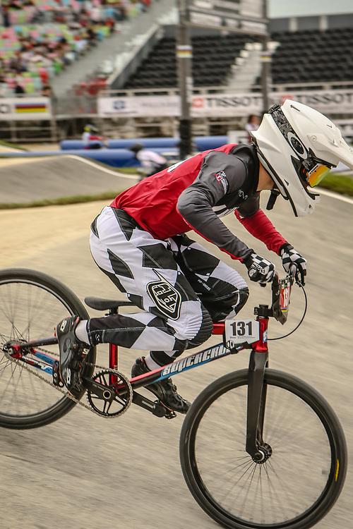 2018 UCI World Championships<br /> Baku, Azerbaijan<br /> Cruiser - 17-24 Men #131 (OSIS Henrijs) LAT