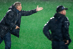 Marijan Pusnik, head coach of HNK Hajduk  during football match between HNK Rijeka and HNK Hajduk Split in Round #15 of 1st HNL League 2016/17, on November 5, 2016 in Rujevica stadium, Rijeka, Croatia. Photo by Vid Ponikvar / Sportida