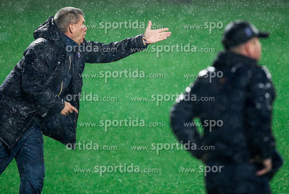 Marijan Pusnik, head coach of HNK Hajduk  during football match between HNK Rijeka and HNK Hajduk Split in Round #15 of 1st HNL League 2016/17, on November 5, 2016 in Rujevica stadium, Rijeka, Croatia. Photo by Vid Ponikvar / Sportida