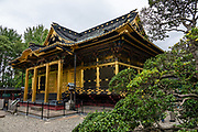 Ueno Toshogu shrine, Tokyo, Japan. Ueno Toshogu Shrine was built in 1651 and is one of many in Japan dedicated to Tokugawa Ieyasu, the founder of the Edo Shogunate.