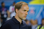 PSG coach Thomas Tuchel during the French championship L1 football match between Paris Saint-Germain (PSG) and Caen on August 12th, 2018 at Parc des Princes, Paris, France - Photo Geoffroy Van der Hasselt / ProSportsImages / DPPI