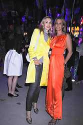 Left to right, ALLEGRA HICKS and INDIA HICKS at the annual Serpentine Gallery Summer Party sponsored by Canvas TV  the new global arts TV network, held at the Serpentine Gallery, Kensington Gardens, London on 9th July 2009.