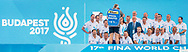 Referees<br /> Day 14 76/07/2017<br /> XVII FINA World Championships Aquatics<br /> City Park - Varosliget Lake<br /> Budapest Hungary <br /> Photo Pasquale Mesiano/Deepbluemedia/Insidefoto