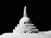 Stupa, Architekturmodell