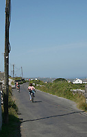 Cycling on Inis Mor Aran Islands County Galway Ireland