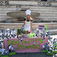 Serena Autieri, no alla fame nel mondo