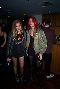 ALICE DELLAL; LAURA FRASER, Nokia 'Capsule N96' ,  launch party. Century Club, 61-63 Shaftesbury Avenue, London *** Local Caption *** -DO NOT ARCHIVE-© Copyright Photograph by Dafydd Jones. 248 Clapham Rd. London SW9 0PZ. Tel 0207 820 0771. www.dafjones.com.