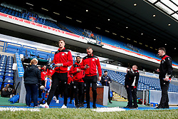 Bristol City players arrive at Ewood Park - Mandatory by-line: Matt McNulty/JMP - 17/04/2017 - FOOTBALL - Ewood Park - Blackburn, England - Blackburn Rovers v Bristol City - Sky Bet Championship