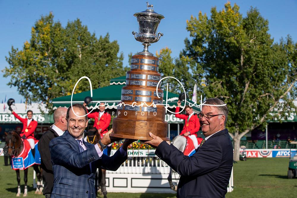 Team Belgium, Weinberg Peter<br /> Spruce Meadows Masters - Calgary 2019<br /> © Hippo Foto - Dirk Caremans<br />  08/09/2019