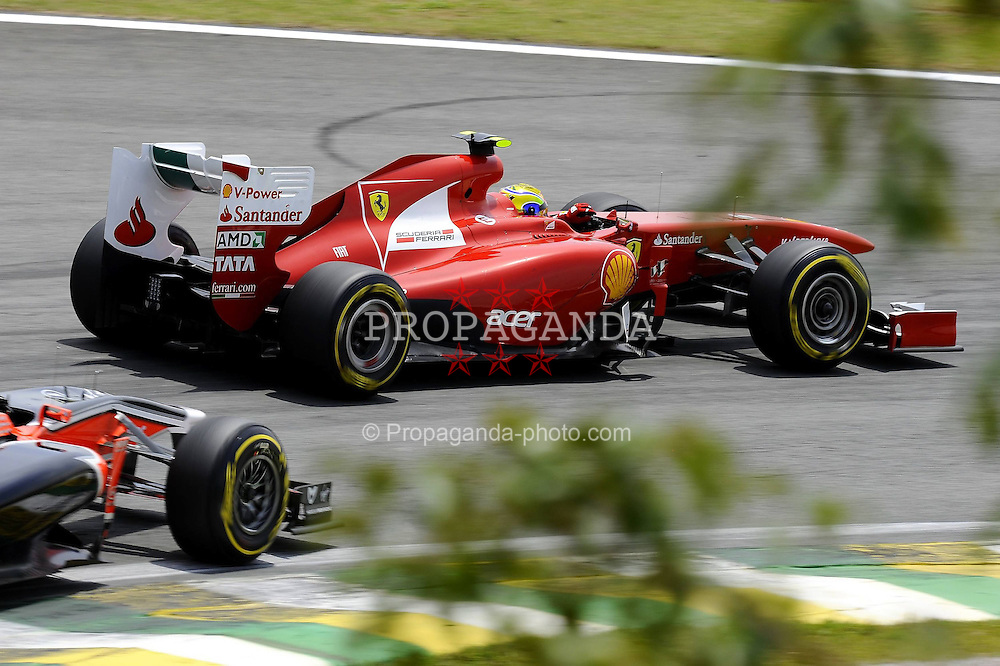 26.11.2011, Autodromo Jose Carlos Pace, Sao Paulo, BRA, F1, Grosser Preis von Brasilien, im Bild Felipe Massa (BRA), Scuderia Ferrari // during the Formula One Championships 2011 Grand Prix of Brazil held at the Autodromo Jose Carlos Pace, Sao Paulo, Brazil on 2011/11/26. EXPA Pictures © 2011, PhotoCredit: EXPA/ nph/ Dieter Mathis..***** ATTENTION - OUT OF GER, CRO *****