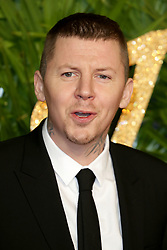 at The Fashion Awards 2017 at the Royal Albert Hall in London, UK. 04 Dec 2017 Pictured: Professor Green. Photo credit: MEGA TheMegaAgency.com +1 888 505 6342