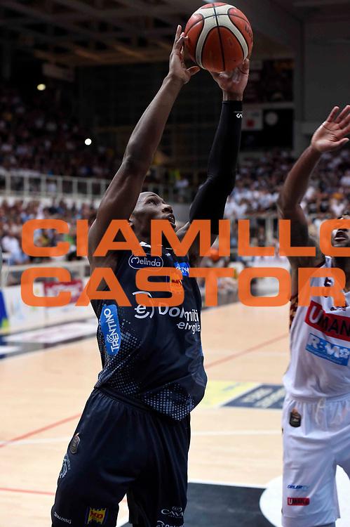 Dominique Sutton<br /> Dolomiti Energia Aquila Basket Trento - Umana Reyer Venezia<br /> Lega Basket Serie A 2016/2017<br /> Playoff, finale gara 4<br /> Trento, 16/06/2017<br /> Foto M.Ceretti / Ciamillo-Castoria