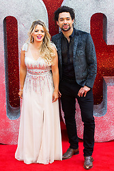 Ben Earle and Crissie Rhodes of The Shires at the London Premiere of Oceans 8 in Leicester Square. London, June 15 2018.