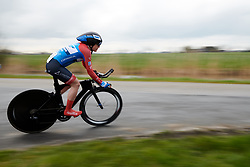 Kathrin Hammes (GER) at Healthy Ageing Tour 2019 - Stage 4A, a 14.4km individual time trial starting and finishing in Winsum, Netherlands on April 13, 2019. Photo by Sean Robinson/velofocus.com