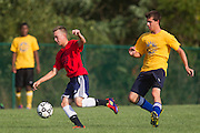 2012 Gloucester County Summer Soccer League: Washington Township High School B. vs. Woodstown High School at New Street Park in Glassboro, NJ on Thursday July 26, 2012. (photo / Mat Boyle)
