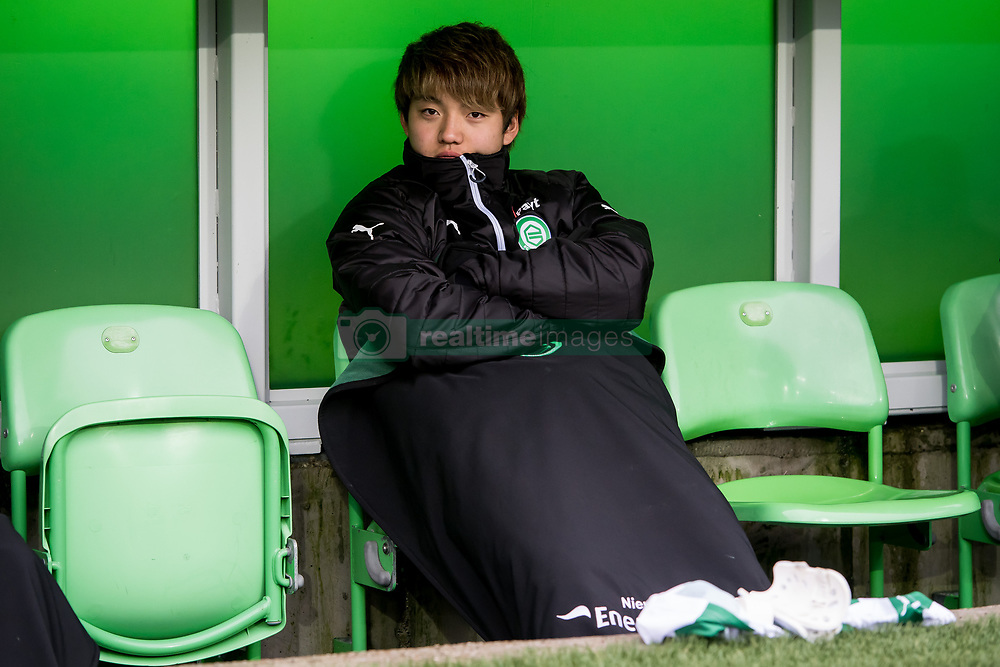 Ritsu Doan of FC Groningen during the Dutch Eredivisie match between FC Groningen and Sparta Rotterdam at Noordlease stadium on December 24, 2017 in Groningen, The Netherlands