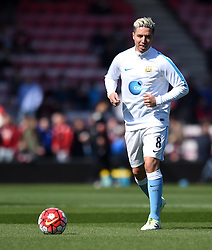 Samir Nasri of Manchester City warms-up - Mandatory by-line: Paul Knight/JMP - 02/04/2016 - FOOTBALL - Vitality Stadium - Bournemouth, England - AFC Bournemouth v Manchester City - Barclays Premier League