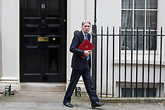 2019-03-13 Philip Hammond leaves to present Spring Statement