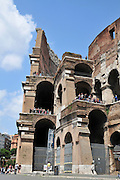 Italy, Rome, Exterior of The Colosseum