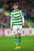 Michael Johnston (#73) of Celtic FC during the UEFA Europa League group stage match between Celtic FC and Rosenborg BK at Celtic Park, Glasgow, Scotland on 20 September 2018.