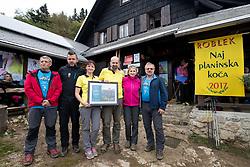 Roblekov dom na Begunjscici - Naj planinska koca 2017, on September 24, 2017, Roblekov dom na Begunjscici, Slovenia. Photo by Matic Klansek Velej / Sportida