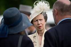 May 16, 2017 - London, London, United Kingdom - Image ©Licensed to i-Images Picture Agency. 16/05/2017. London, United Kingdom. Princess Royal   at a Garden party at Buckingham Palace in London. Picture by ROTA  / i-Images UK OUT FOR 28 DAYS (Credit Image: © Rota/i-Images via ZUMA Press)