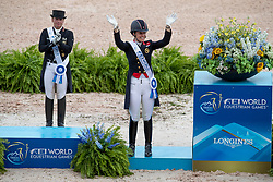 Dujardin Charlotte, GBR, Mount St John Freestyle<br /> World Equestrian Games - Tryon 2018<br /> © Hippo Foto - Dirk Caremans<br /> 14/09/2018