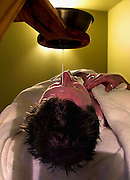 The Avalon Hotel and Spa is a luxury destination just minutes from downtown Portland. Here Jim Kennedy has The Shirodhara which begins with a gentle stream of oil onto the forehead followed by massage of hair and body.