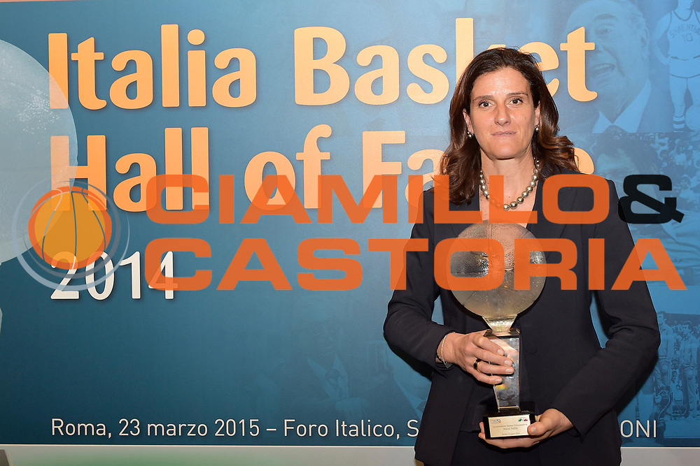 DESCRIZIONE : Roma Basket Day Hall of Fame 2014<br /> GIOCATORE : Mara Fullin<br /> SQUADRA : FIP Federazione Italiana Pallacanestro <br /> EVENTO : Basket Day Hall of Fame 2014<br /> GARA : Roma Basket Day Hall of Fame 2014<br /> DATA : 22/03/2015<br /> CATEGORIA : Premiazione<br /> SPORT : Pallacanestro <br /> AUTORE : Agenzia Ciamillo-Castoria/GiulioCiamillo