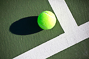 Tennis Ball on Court