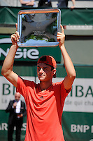 Tommy PAUL  - 06.06.2015 - Jour 14 - Roland Garros 2015<br />Photo : Nolwenn Le Gouic / Icon Sport
