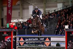 Vos Robert, (NED), Zapatero VDL<br /> Grote Prijs Springen<br /> KWPN Hengstenkeuring - 's Hertogenbosch 2016<br /> © Hippo Foto - Dirk Caremans<br /> 04/02/16