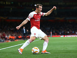 September 20, 2018 - London, England, United Kingdom - Arsenal's Stephan Lichtsteiner.during UAFA Europa League Group E between Arsenal and FC Vorskla Poltava at Emirates stadium , London, England on 20 Sept 2018. (Credit Image: © Action Foto Sport/NurPhoto/ZUMA Press)